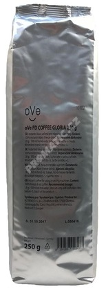 oVe FD coffee GLORIA instantní káva 250g (freeze dried)