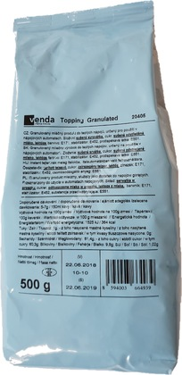 Venda Topping Granulated 500g