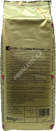 Venda Coffee Staccato instantní káva 500g (freeze dried)